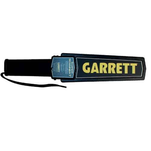 Garrett Super Scanner Metal Dectector Top View