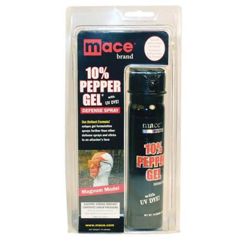 Mace 10% Pepper Gel Magnum Size Blister Pack