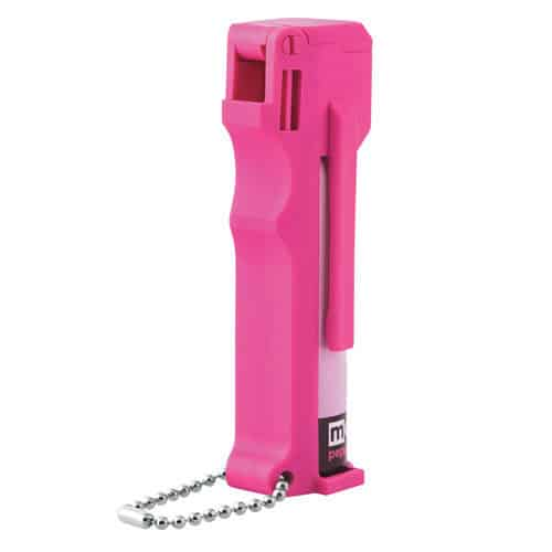 Mace Personal Hot Pink 10% Pepper Spray Front View