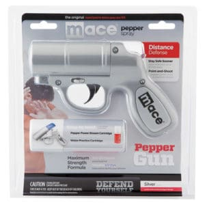 Mace Pepper Gun Silver Blister Pack
