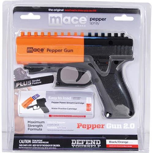 Mace Pepper Gun 2.0 Blister Pack