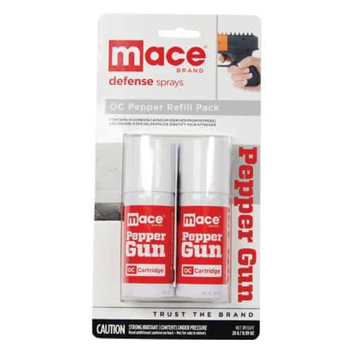 Mace Pepper Gun Refill Blister Pack