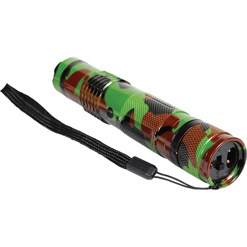 Camouflage Bashlite 15,000,000 Volt Stun Gun Lying Down
