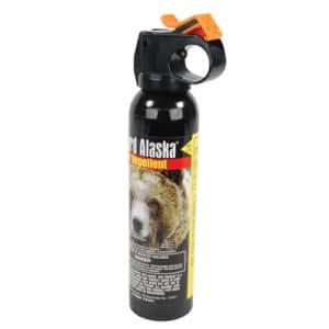 Guard Alaska Bear Spray 9 Ounce Side View