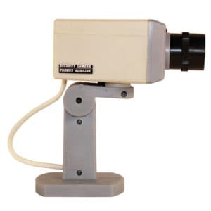 Indoor Motion Detecting Dummy Camera Side View