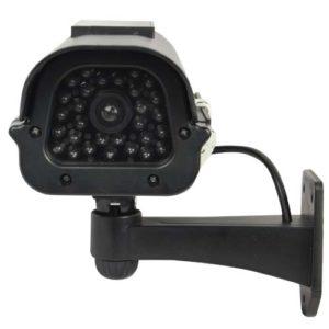 Solar Powered Dummy Camera Head On View jpg