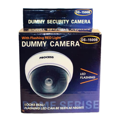 Dummy Dome Camera With LED White Package