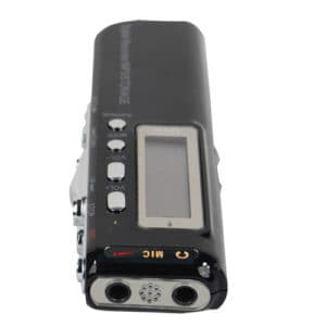 Digital Voice/Telephone Recorder With MP3 Function Mic View