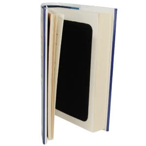 Book Diversion Safe Cover Opened