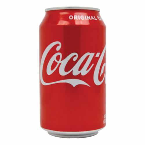 Cola Can Hidden Safe Lid On