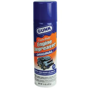 Gunk Engine Degreaser Hidden Safe