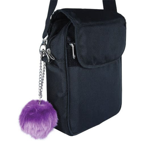 Fur Ball Buzzer Personal Alarm Purple