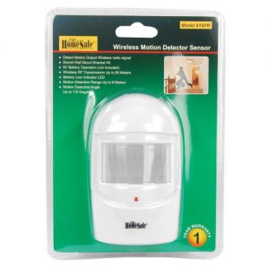 Home Motion Sensor Package View