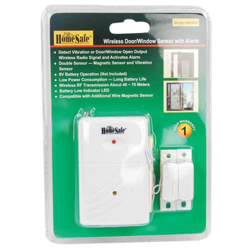 HomeSafe Wireless Home Security Security Sensor Blister Pack