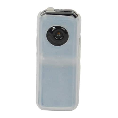 Mini Hidden Spy Camera White Front View
