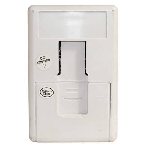 Mini Alert Infrared Alarm Back Side View