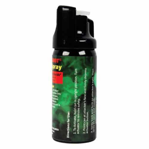 Pepper Shot 1.2% MC 2 oz Pepper Spray Left Side View