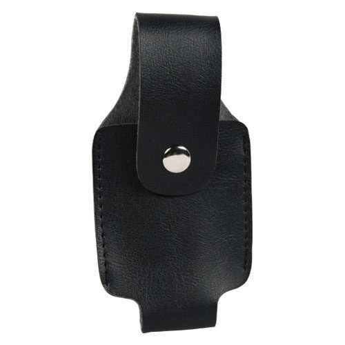 Leatherette Holster For 2 Oz Pepper Spray Front View