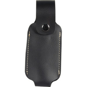 Leatherette Holster For 4 Oz Pepper Spray Front View