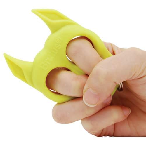 Brutus Self Defense Key Chain In Hand