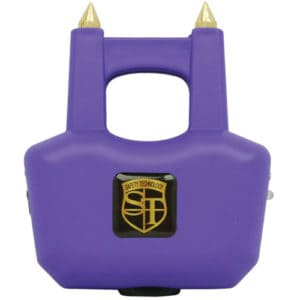Spike Stun Gun Purple Front View