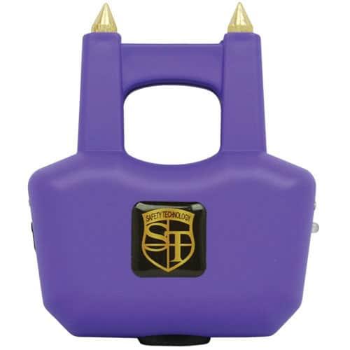 Spike Stun Gun Purple Front View