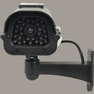 Solar Powered Dummy Camera Head On View