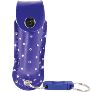 Pepper Shot Rhinestone Holster Purple With Quick Release