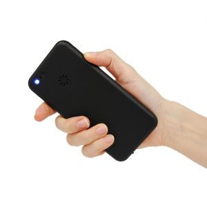 Cell Phone Stun Gun Back View in Hand